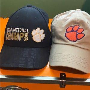 Clemson hats